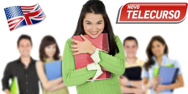 Curso Inglês do Ensino Fundamental do Telecurso com Apostilas