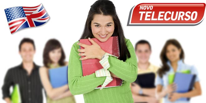Curso Inglês do Ensino Fundamental do Telecurso com Apostilas