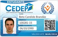 carteira de estudante